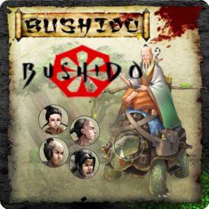 Livre de règles et accessoires Bushido